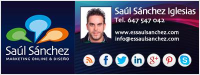 Saúl Sánchez - Marketing online y diseño