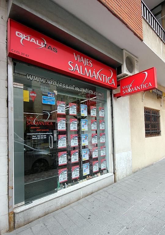 Foto: agencia de viajes en Salamanca: Salmantica. Fachada por fotoeloy.com