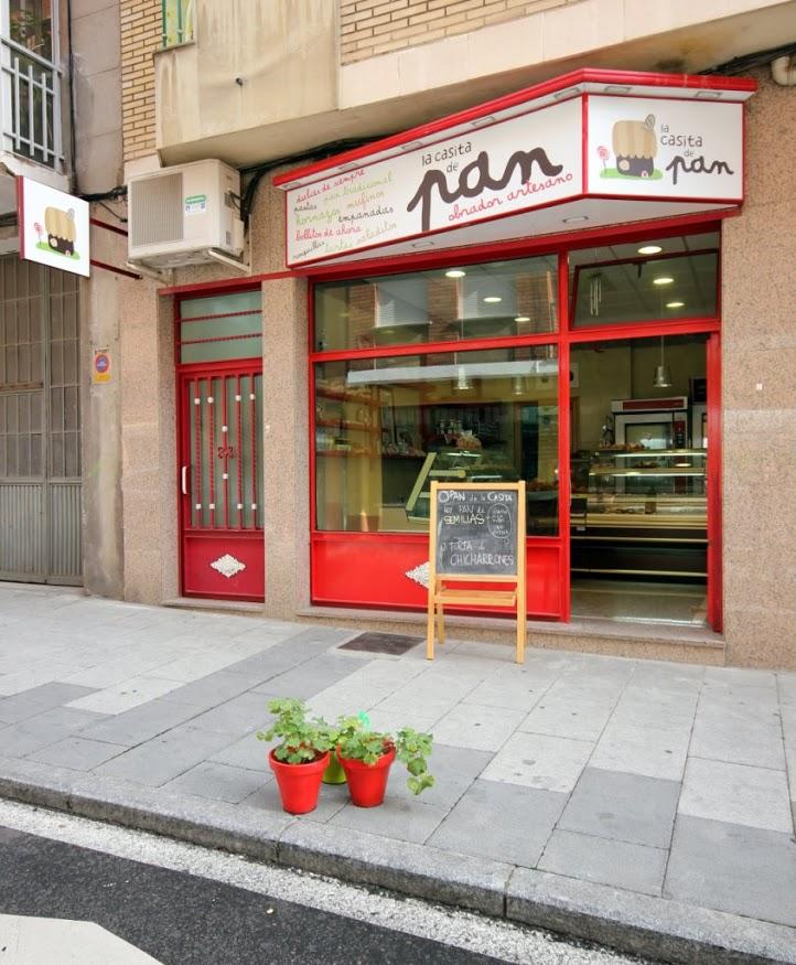 Foto: Panaderia en Salamanca La casita de pan - fachada