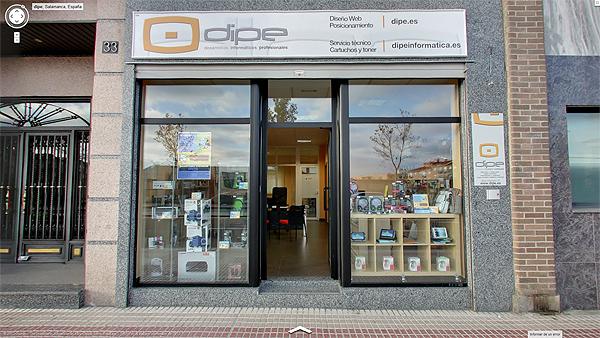 0846c650098 DIPE  diseño web y tienda de informática en Salamanca