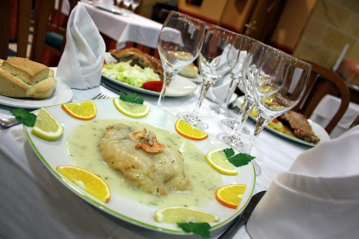Foto: hotel Fénix Salamanca: plato de restaurante
