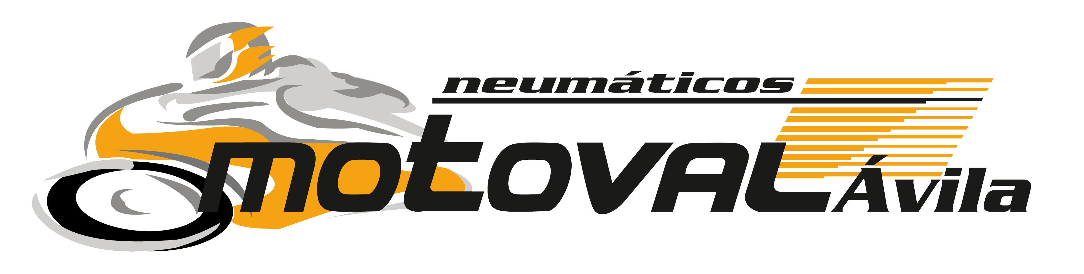 Logotipo Neumaticos Motoval Avila