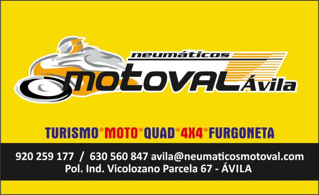 Tarjeta Neumaticos Motoval Avila